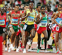 Friidrett Olympiske Leker / OL / 2008 16.08.2008 <br /> 10000 m <br /> Marwa Dickson Mkami (2970) ,  Sileshi Sihine (1663) , Abdellah Falil  (2404) ,MAR