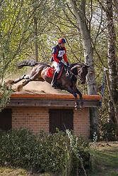 De Cleene Wouter, (BEL), Boy<br /> Nationale LRV-Eventingkampioenschap Ponies Minderhout 2017<br /> © Hippo Foto - Kris Van Steen<br /> 30/04/17