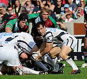 Twickenham, GREAT BRITAIN, Hayden THOMAS, working behind the scrum, during the Guinness Premiership match,  Harlequins vs Bristol Rugby, at The Stoop Stadium, Surrey on Sat 13.09.2008. [Photo, Peter Spurrier/Intersport-images]