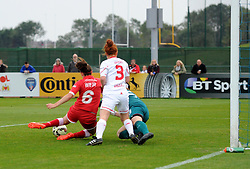 Caroline Weir of Bristol Academy Women scores against Liverpool Ladies at Stoke Gifford Stadium - Mandatory by-line: Paul Knight/JMP - Mobile: 07966 386802 - 04/10/2015 -  FOOTBALL - Stoke Gifford Stadium - Bristol, England -  Bristol Academy Women v Liverpool Ladies FC - FA Women's Super League