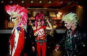 Sigue Sigue Sputnik back stage bar photos