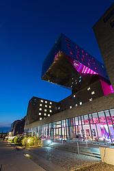 View of modern Nhow Hotel in Berlin Germany
