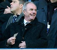 Photo: Daniel Hambury.<br />Tottenham Hotspur v West Ham Utd. The Barclays Premiership. 20/11/2005.<br />England head coach, Sven Goran Eriksson.
