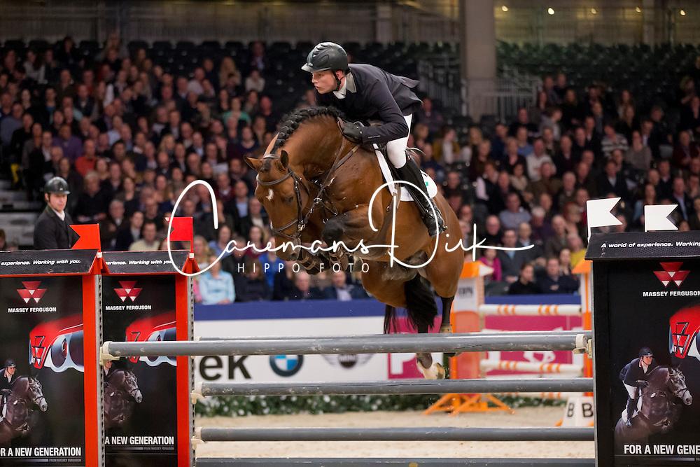 Been Remco, (NED), Etoulon VDL<br /> Springen Klasse Z-ZZ<br /> KWPN Hengstenkeuring - 's Hertogenbosch 2016<br /> © Hippo Foto - Dirk Caremans<br /> 04/02/16