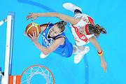 DESCRIZIONE : Riga Latvia Lettonia Eurobasket Women 2009 Quarter Final Spagna Italia Spain Italy<br /> GIOCATORE : Kathrin Ress<br /> SQUADRA : Italia Italy<br /> EVENTO : Eurobasket Women 2009 Campionati Europei Donne 2009 <br /> GARA : Spagna Italia Spain Italy<br /> DATA : 17/06/2009 <br /> CATEGORIA : special super tiro<br /> SPORT : Pallacanestro <br /> AUTORE : Agenzia Ciamillo-Castoria/M.Marchi<br /> Galleria : Eurobasket Women 2009 <br /> Fotonotizia : Riga Latvia Lettonia Eurobasket Women 2009 Quarter Final Spagna Italia Spain Italy<br /> Predefinita :