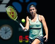 ANASTASIJA SEVASTOVA (LAT)<br /> <br /> Tennis - Australian Open 2018 - Grand Slam / ATP / WTA -  Melbourne  Park - Melbourne - Victoria - Australia  - 18 January 2018.
