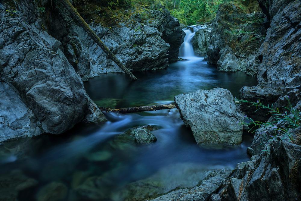 Canada, British Columbia Vancouver Island, Port Alberni, Little Qualicum Falls,