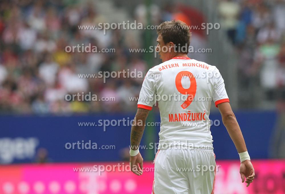Football: Liga Total Cup 2012, FC Bayern Muenchen, Hamburg, 05.08.2012.Mario Mandzukic.©Êpixathlon