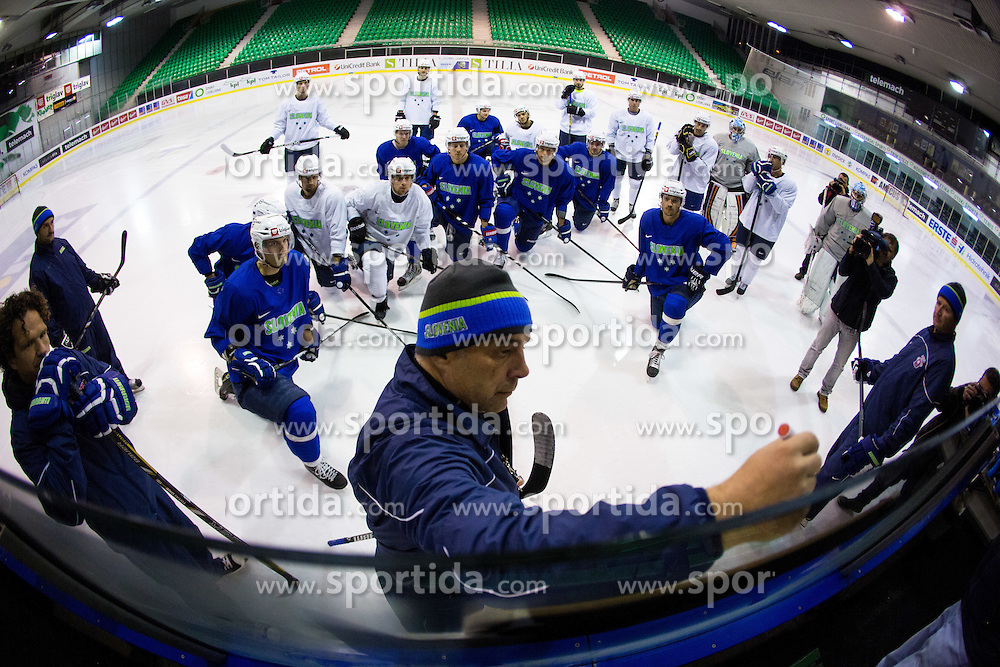 Matjaz Kopitar at first practice of Slovenian ice-hockey team before EIHC tournament on November 3, 2014 in Hala Tivoli, Ljubljana. Photo by Matic Klansek Velej / Sportida
