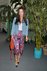 LILY FORTESCUE at the launch of Matthew Williamson's 'Sea to Shore' range for The Outnet.com held at the Matthew Williamson's showroom, Studio 10-11, 135 Salusbury Road, London NW6 on 5th May 2016