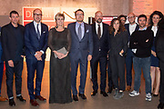 Prins Constantijn reikt prijs World Press Photo 2018 uit tijdens een awardshow in de de Westergasfabriek in Amsterdam. <br /> <br /> Prince Constantijn presents World Press Photo 2018 prize during an award show at the Westergasfabriek in Amsterdam.<br /> <br /> Op de foto / On the photo:  Prins Constantijn reikt prijs World Press Photo 2018 uit tijdens een awardshow in de de Westergasfabriek in Amsterdam. <br /> <br /> Prince Constantijn presents World Press Photo 2018 prize during an award show at the Westergasfabriek in Amsterdam.<br /> <br /> Op de foto / On the photo:  Prins Constantijn en Prinses Laurentien met John Moore voor zijn foto Crying Girl on the Border  / Prince Constantijn and Princess Laurentien with winner John Moore