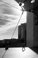 Paris, La defense, modern district / quartier de la defense
