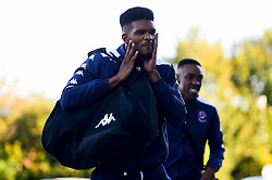 Marcus Delpeche of Bristol Flyers arrives at SGS Wise Arena prior to tip off - Photo mandatory by-line: Ryan Hiscott/JMP - 20/09/2019 - BASKETBALL - SGS Wise Arena - Bristol, England - Bristol Flyers v Surrey Scorchers - British Basketball League Cup