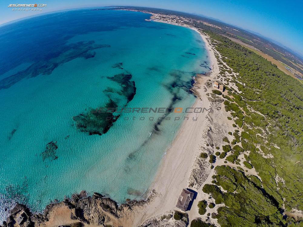 Es Trenc ,Aerial Images , Mallorca, ©Jesús Renedo