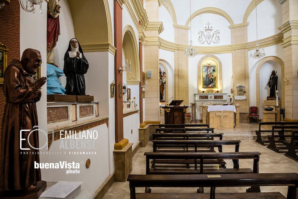 Marettimo, Sicilia, Italia, 2016<br /> La Chiesa di Maria SS. delle Grazie a Marettimo.<br /> <br /> Marettimo, Sicily, Italy, 2016<br /> The Church of Mary The Gracious in Marettimo, Aegadian Islands.