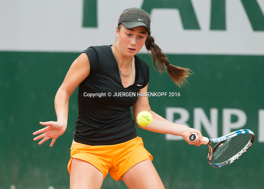 Amina Anshba (RUS) Junior Girls<br /> <br /> Tennis - French Open 2016 - Grand Slam ITF / ATP / WTA -  Roland Garros - Paris -  - France  - 1 June 2016.