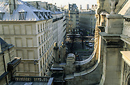 France. Paris. elevated view. paris skyline  view from the Sorbonne church