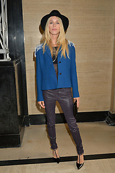 LADY MARY CHARTERIS at the Gyunel Spring Summer 2015 fashion show as part of London Fashion week 2015 held at Victoria House, Bloomsbury Square, London on 12th September 2014.