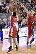 DESCRIZIONE : Roma Lega serie A 2013/14 Acea Virtus Roma Grissin Bon Reggio Emilia<br /> GIOCATORE : Jordan Taylor<br /> CATEGORIA : Difesa Passaggio<br /> SQUADRA : Acea Virtus Roma<br /> EVENTO : Campionato Lega Serie A 2013-2014<br /> GARA : Acea Virtus Roma Grissin Bon Reggio Emilia<br /> DATA : 22/12/2013<br /> SPORT : Pallacanestro<br /> AUTORE : Agenzia Ciamillo-Castoria/GiulioCiamillo<br /> Galleria : Lega Seria A 2013-2014<br /> Fotonotizia : Siena Lega serie A 2013/14 Acea Virtus Roma Grissin Bon Reggio Emilia<br /> Predefinita :