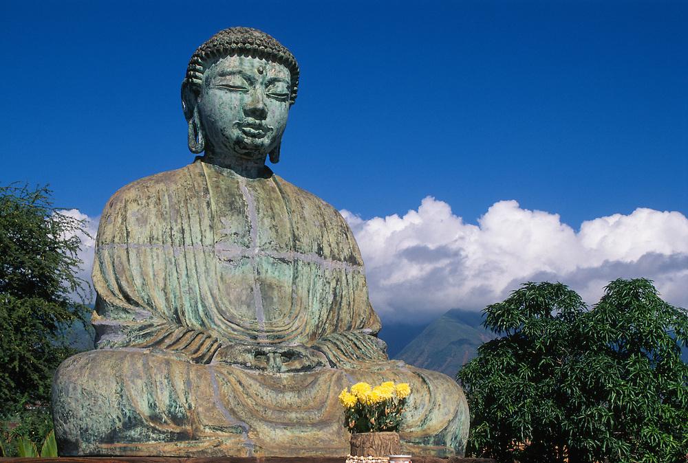 Amitabha Buddha at Lahaina Jodo Mission; Lahaina, Maui, Hawaii.