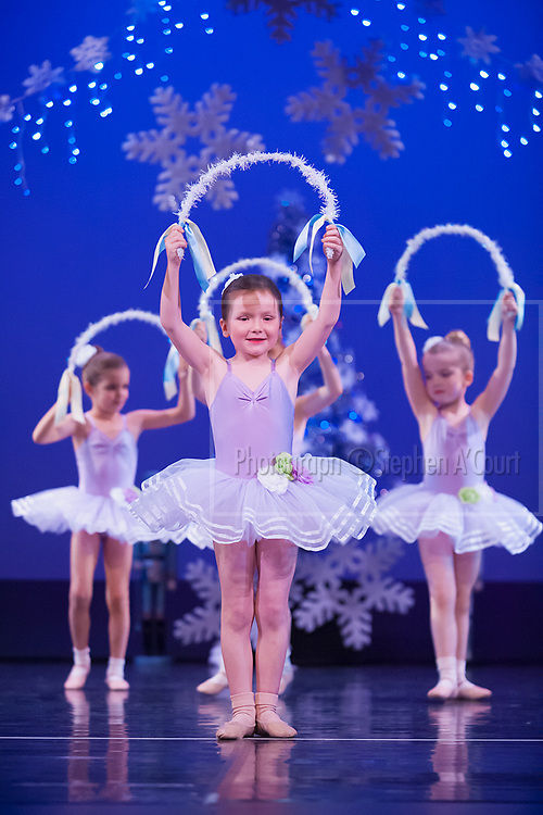 Wellington, NZ. 6.12.2015.  Sugar Flowers, from the Wellington Dance & Performing Arts Academy end of year stage-show 2015. Little Show, Sunday 12.45pm. Photo credit: Stephen A'Court.  COPYRIGHT ©Stephen A'Court