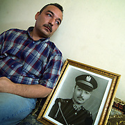 26 June 2004..Baghdad, Iraq...Opinions on handover.....As the June 30th deadline for handover of power from the US led coalition to an Iraqi government looms people on the streets of Baghdad express mixed feelings on the past year and what the future holds for their country.....Ammal al Hashemi, 38, ex army officer.