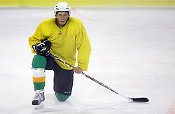 Egon Muric at second ice hockey practice of HDD Tilia Olimpija on ice in the new season 2008/2009, on August 19, 2008 in Hala Tivoli, Ljubljana, Slovenia. (Photo by Vid Ponikvar / Sportal Images)