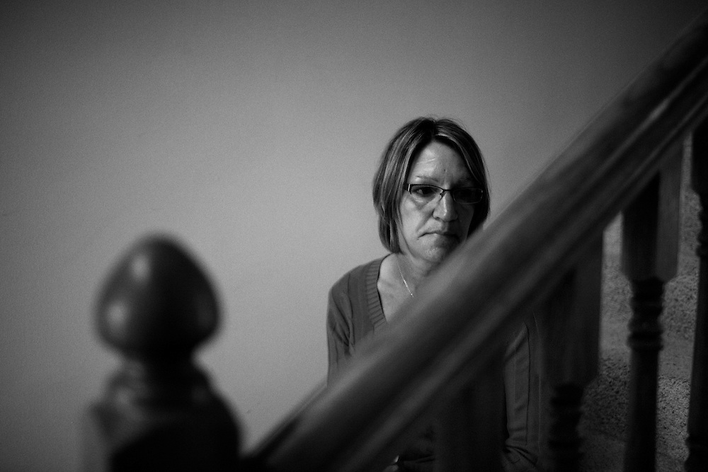 Dana Smith lost her oldest son to a heroin overdose and has two younger sons who are both still grappling with the same addiction. She was photographed on her 49th birthday at her home in Columbus, Ohio on Tuesday, April 15, 2009.