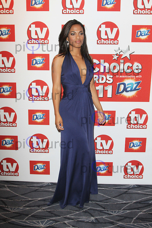 Freema Agyeman TVChoice Awards, Savoy Hotel, London, UK. 13 September 2011 Contact: Rich@Piqtured.com +44(0)7941 079620 (Picture by Richard Goldschmidt)