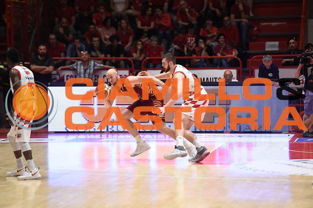 Hrvoje Peric<br /> The Flexx Pistoia Umana Reyer Venezia<br /> Lega Basket Serie A 2016/2017<br /> Playoff Quarti di finale Gara 4<br /> Pistoia 19/05/2017<br /> Foto Ciamillo-Castoria