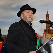 George Galloway concedes defeat in Bradford West. The count for the Bradford East, South and West constituencies at the Richard Dunn leisure centre in Bradford.