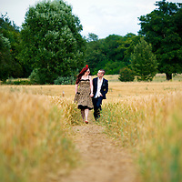 30.07.2012 - © Blake-Ezra Photography Ltd..Image from the portrait (pre-wedding) shoot of Tali and Mo, in Aldenham, Hertfordshire. .Credit: Blake Ezra Photography/ www.blakeezraphotography.com .