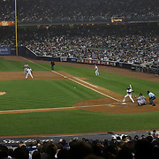 A general view of Yankee Stadium during the New York Yankees V Boston Red Sox Baseball game which the New York Yankees beat Boston Red Sox 14-2 to become American League East champions at Yankee Stadium, The Bronx, New York. 4th October 2012. Photo Tim Clayton