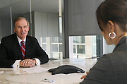"Ambassador Robert Kimmitt being interviewed by Astrid Doerner, US Correspondent of the German financial paper ""Handelsblatt""...Ambassador Robert Kimmitt is a senior international counsel at Washington law firm Wilmer Hale..He was the US ambassador to Germany from 1991-93, and from 2005-2009 served as Deputy Secretary of the US Treasury."