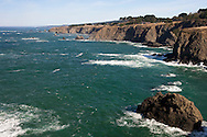 Coastline as seen from the Mendocino Headlands State Park, California