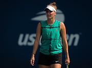 Marketa Vondrousova of the Czech Republic practices at the 2018 US Open Grand Slam tennis tournament, New York, USA, August 26th 2018, Photo Rob Prange / SpainProSportsImages / DPPI / ProSportsImages / DPPI