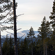 Noorwegen Robru Gol 24 december 2008 20081224 Foto: David Rozing .Natuur, besneeuwde bergen bergtoppen.Wintertime, nature mounatins, hills..Foto: David Rozing