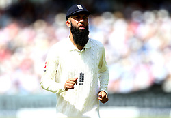 Moeen Ali of England - Mandatory by-line: Robbie Stephenson/JMP - 08/07/2017 - CRICKET - Lords - London, United Kingdom - England v South Africa - Investec Test Series