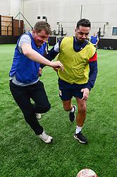Bristol City Community Trust walking football with Scott Murray - Mandatory by-line: Dougie Allward/JMP - 20/03/2018 - FOOTBALL - South Bristol Sports Centre - Bristol, England -  v  - EFL Day of action BCCT