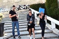 Luka karabatic /  Jennifer Priez / Geraldine Pillet - 17.06.2015 - Proces des paris sportifs du Handball - Montpellier<br /> Photo : Alexandre Dimou / Icon Sport