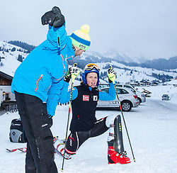 13.02.2013, Buerglalmbahn, Dienten, AUT, FIS Weltmeisterschaften Ski Alpin, Schladming 2013, Comeback Marlies Schild, im Bild Marlies Schild (AUT) // Marlies Schild of Austria during her Comeback for the FIS Ski World Championships 2013 SChladming at the Buerglalmbahn, Dienten, Austria 2013/02/13. EXPA Pictures © 2013, PhotoCredit: EXPA/ Juergen Feichter