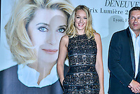 Remise du Prix Lumiere a Catherine Deneuve, 1ere femme a recevoir ce prix.<br /> Ludivine Sagnier<br /> <br /> Catherine Deneuve Receives 'Prix Lumiere 2016' Award - 8th Film Festival Lumiere In Lyon