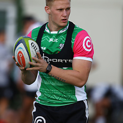 DURBAN, SOUTH AFRICA - MAY 03: Daniel Du Preez during the Cell C Sharks training session at Growthpoint Kings Park on May 03, 2016 in Durban, South Africa. (Photo by Steve Haag/Gallo Images)