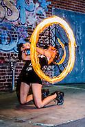 2015 Art Hop Fire Performance