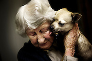 Grethe, 95 years old, and the puppy Conrad have a very special friendship. They meet once a week at the bingo hall in Rudkøbing.
