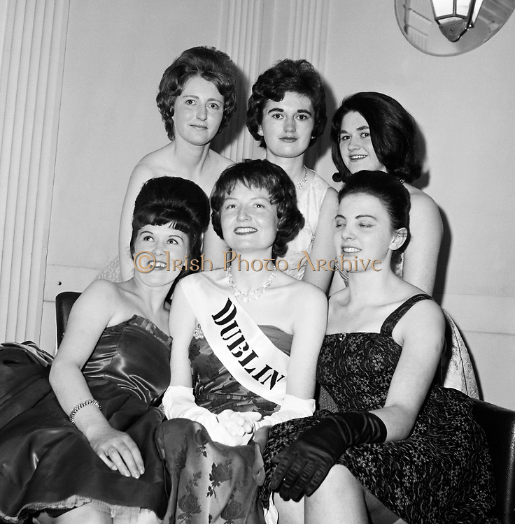 """The """"Rose of Tralee"""" Competition, The Dublin Winner is Eileen McMahan..21.04.1961"""