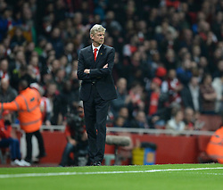 Arsenal Manager, Arsene Wenger - Photo mandatory by-line: Alex James/JMP - Mobile: 07966 386802 - 22/11/2014 - Sport - Football - London - Emirates Stadium - Arsenal v Manchester United - Barclays Premier League