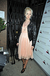 PORTIA FREEMAN at a party to launch the new Belvedere Black Raspberry Maceration held at the Belvedere Black Raspberry Pop-up Store, 100 Mount Street, London W1 on 6th May 2009.
