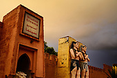 Morocco-Ouarzazate, Morocco's Hollywood
