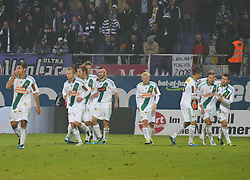 23.10.2011, Generali Arena, Wien, AUT, 1. FBL, Wiener Derby FK Austria Wien vs SK Rapid Wien, im Bild Jubel SK Rapid Wien // during the vienna derby FK Austria Wien vs SK Rapid Wien, Generali Arena, Vienna, 2011-10-23, EXPA Pictures © 2011, PhotoCredit: EXPA/ M. Gruber